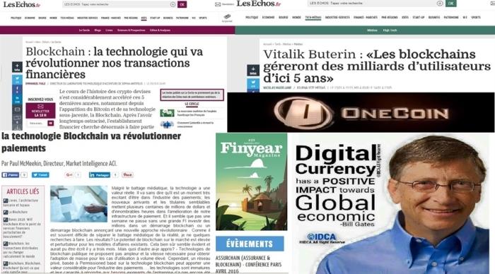la presse en parle--blockchain